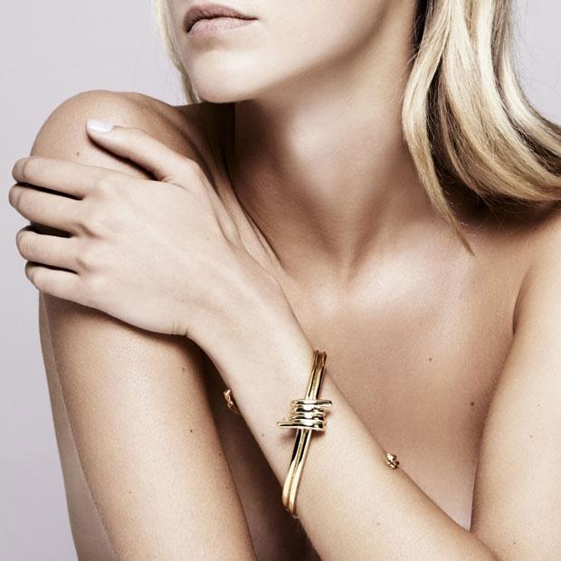 Annelise Michelson - Wire bondage bracelet