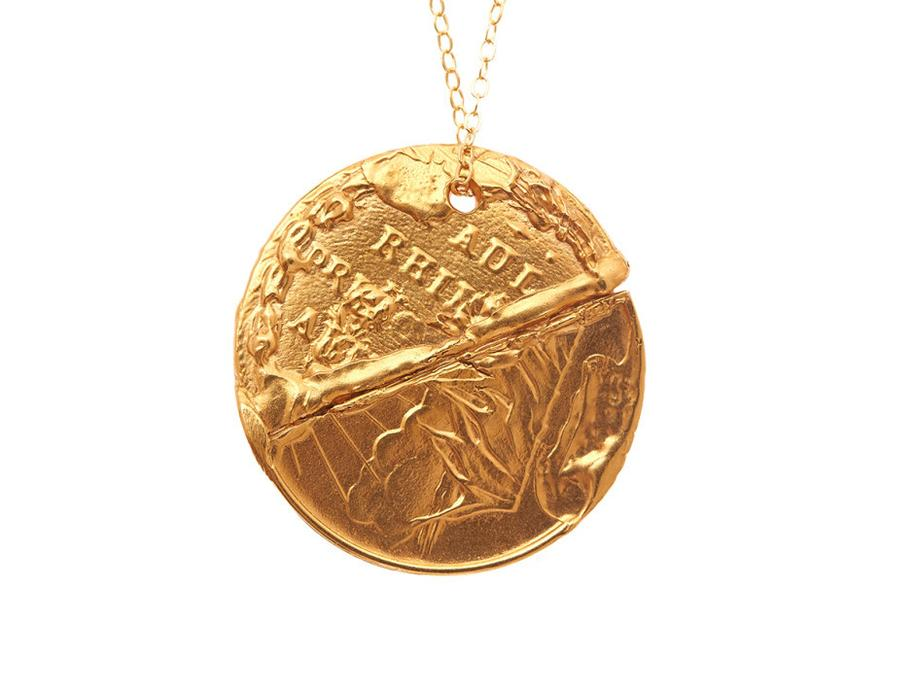 Alighieri - The conflicted man necklace