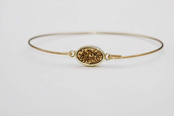 Etsy shop (Les collectibles)- Druzy bracelet